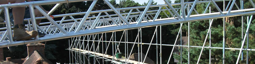 Temporary Roof Specialists Scaffolding Surrey Sussex Kent